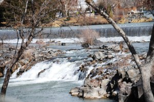 Snake River in Idaho Falls