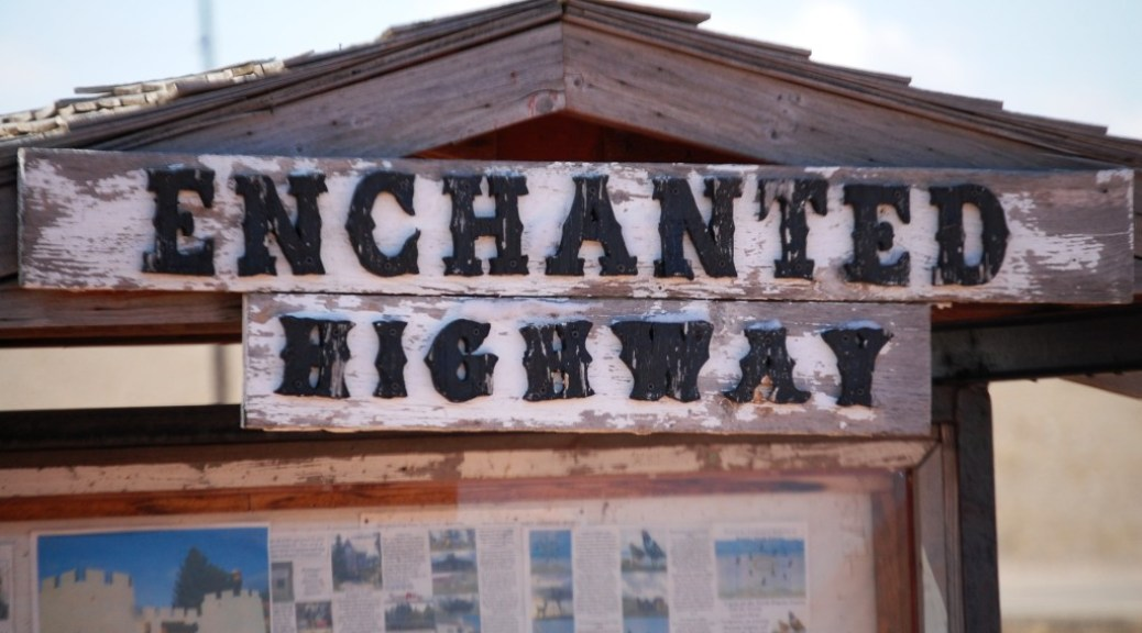 The Enchanted Highway in Western North Dakota