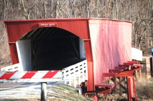Roseman Covered Bridge in Winterset, Iowa