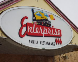 Enterprise Family Restaurant - Vulcan, Alberta