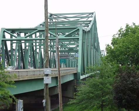 Parkersburg-Belpre Bridge, built in 1980