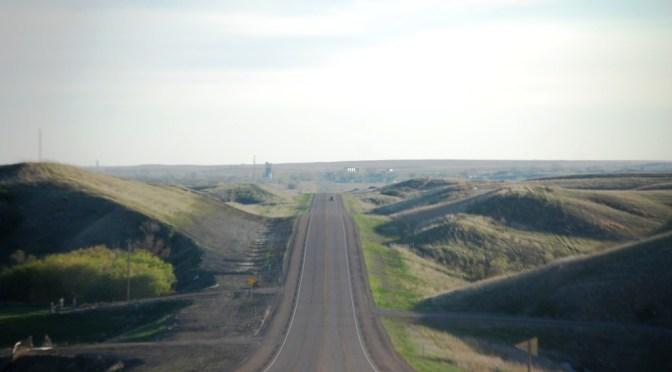 US Route 2 in North Dakota