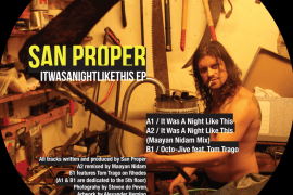 2 - San-Proper-It-Was-A-Night-Like-This-ep-LIZM10-270x180