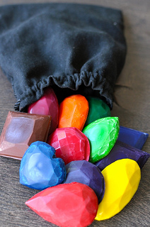 royal-wax-gems-recycled-crayons