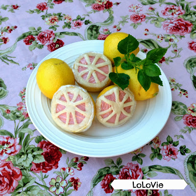 Lemon playdough