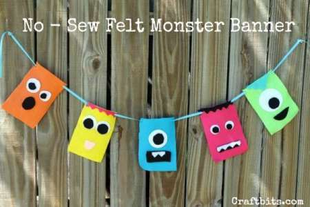 no-sew-monster-banner
