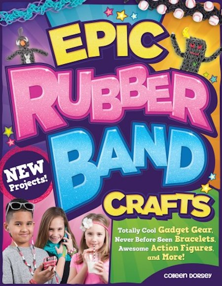 Epic Rubber Band Crafts Book Review