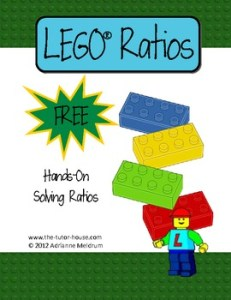 LEGO Ratios - TeachersPayTeachers