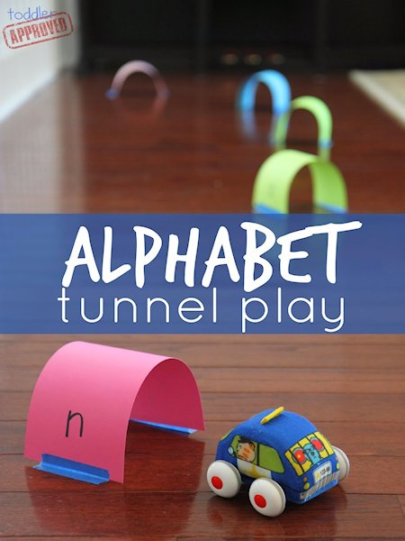Alphabet Tunnel Play