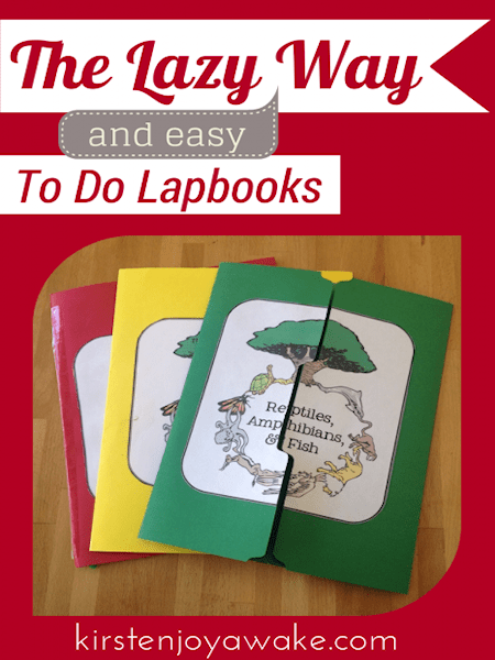 Easy Lapbooks
