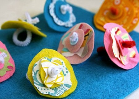 Homemade Flower Rings