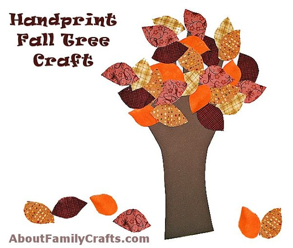 Handprint Fall Tree