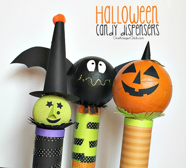 Halloween Candy Dispensers