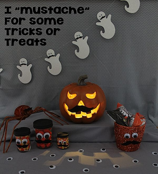 """I """"Mustache"""" for Some Tricks or Treats"""