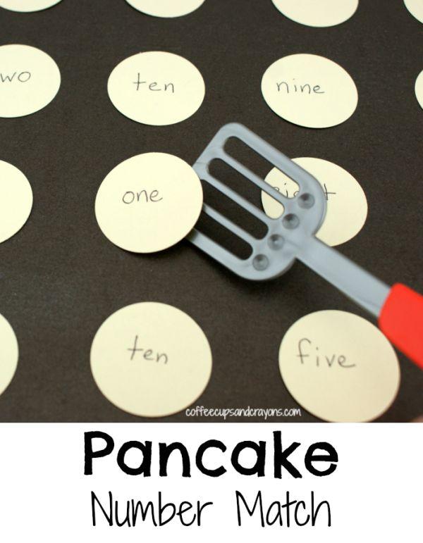 Pancake Number Match
