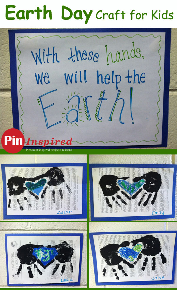Earth Day Helping Hands Craft