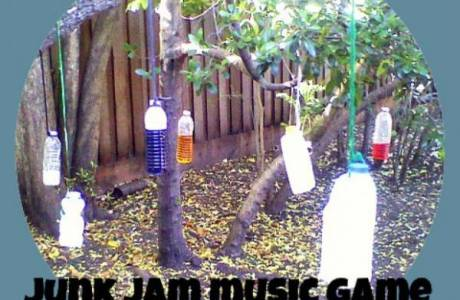 Play with Sound with the Junk Jam Music Game
