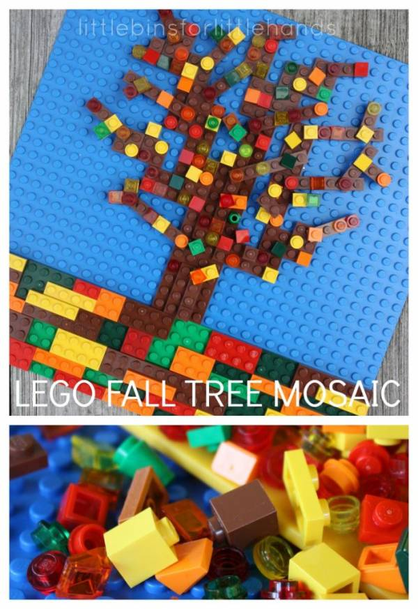 Fall Lego building challenge ideas