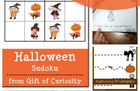 Free Halloween Themed Printables for Kids
