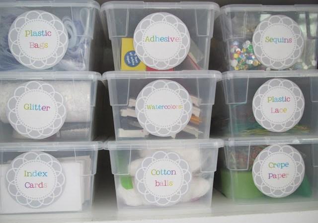 Storage Organization!