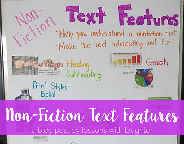 Nonfiction Text Features - Lessons With Laughter