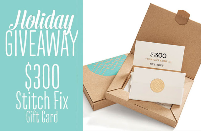 Stitch Fix Gift Card Giveaway!