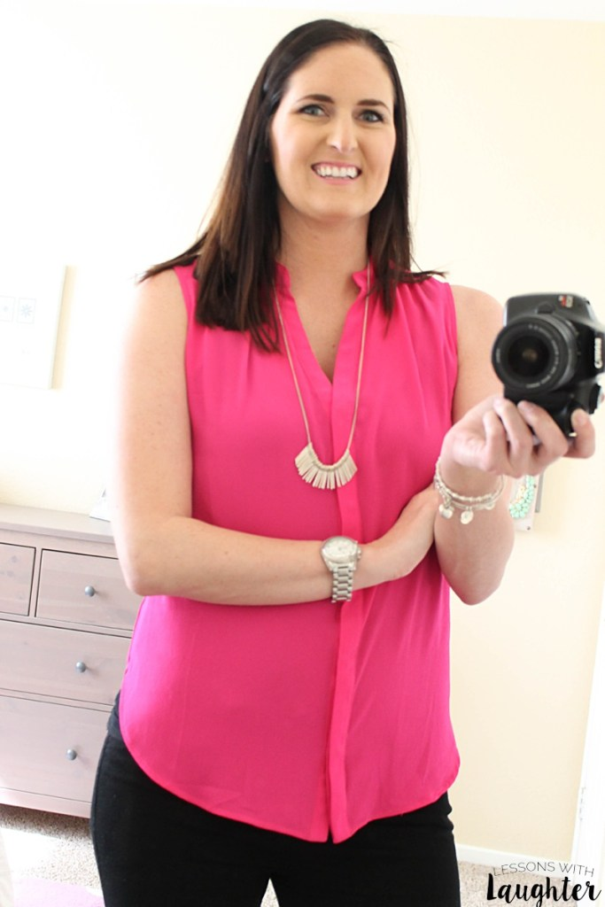 Sweet Rain Fuchsia Blouse - Stitch Fix