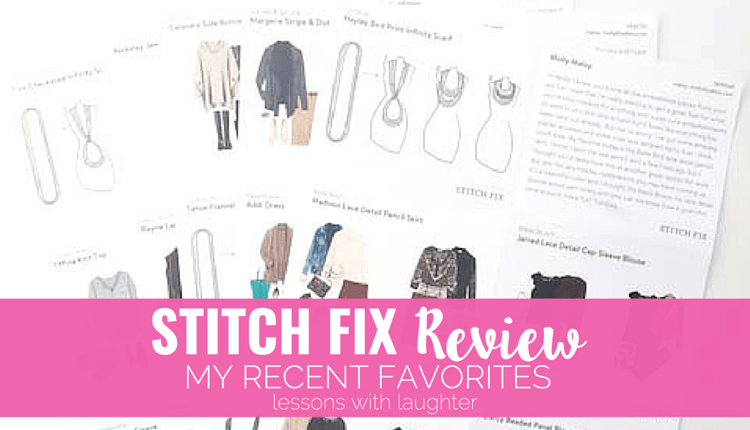 Stitch Fix Review – My Recent Favorites
