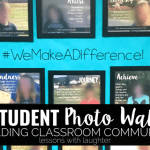 Building a Classroom Community with a Student Photo Wall