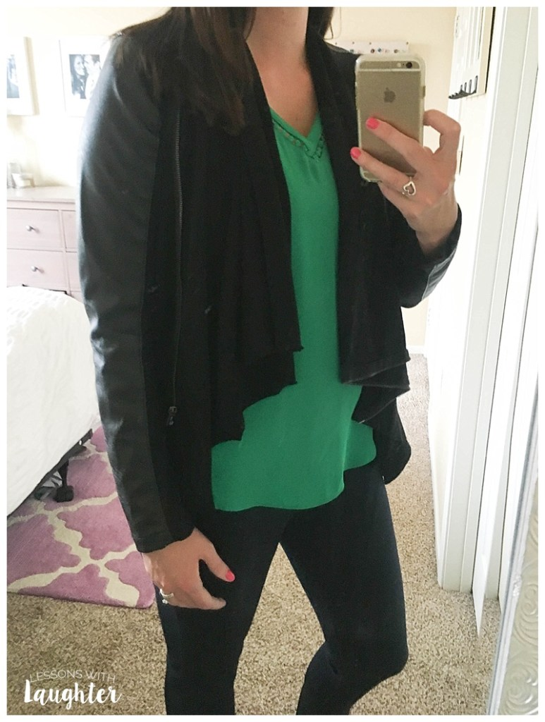 Lettie Faux Leather Jacket - Stitch Fix