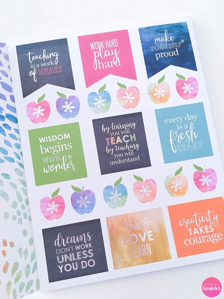 Erin Condren Teacher Planner + Supplies Review