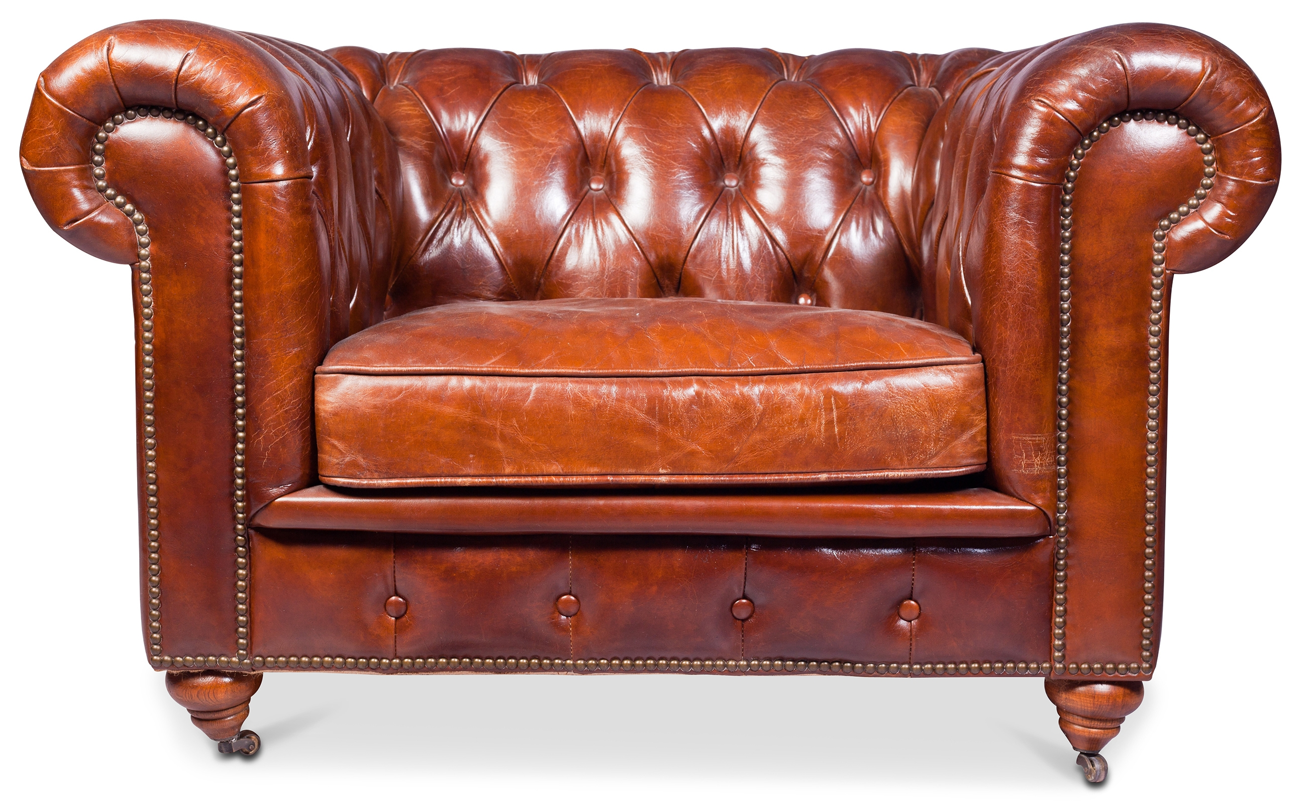 Fauteuils Chesterfield Cuir Fauteuil Chesterfield Cuir Marron Vintage Lower