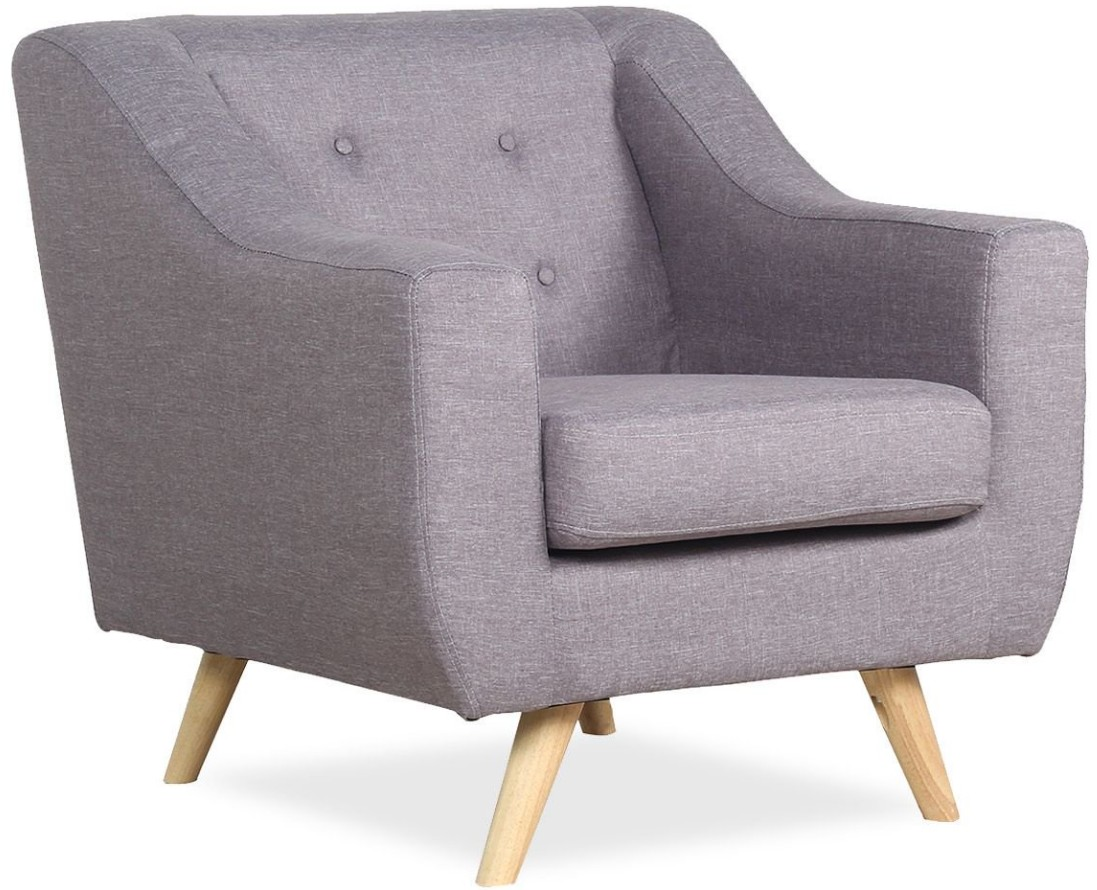 Fauteuil Relax 1 Place Fauteuil Relax 1 Place Tissu Gris Clair Rouva
