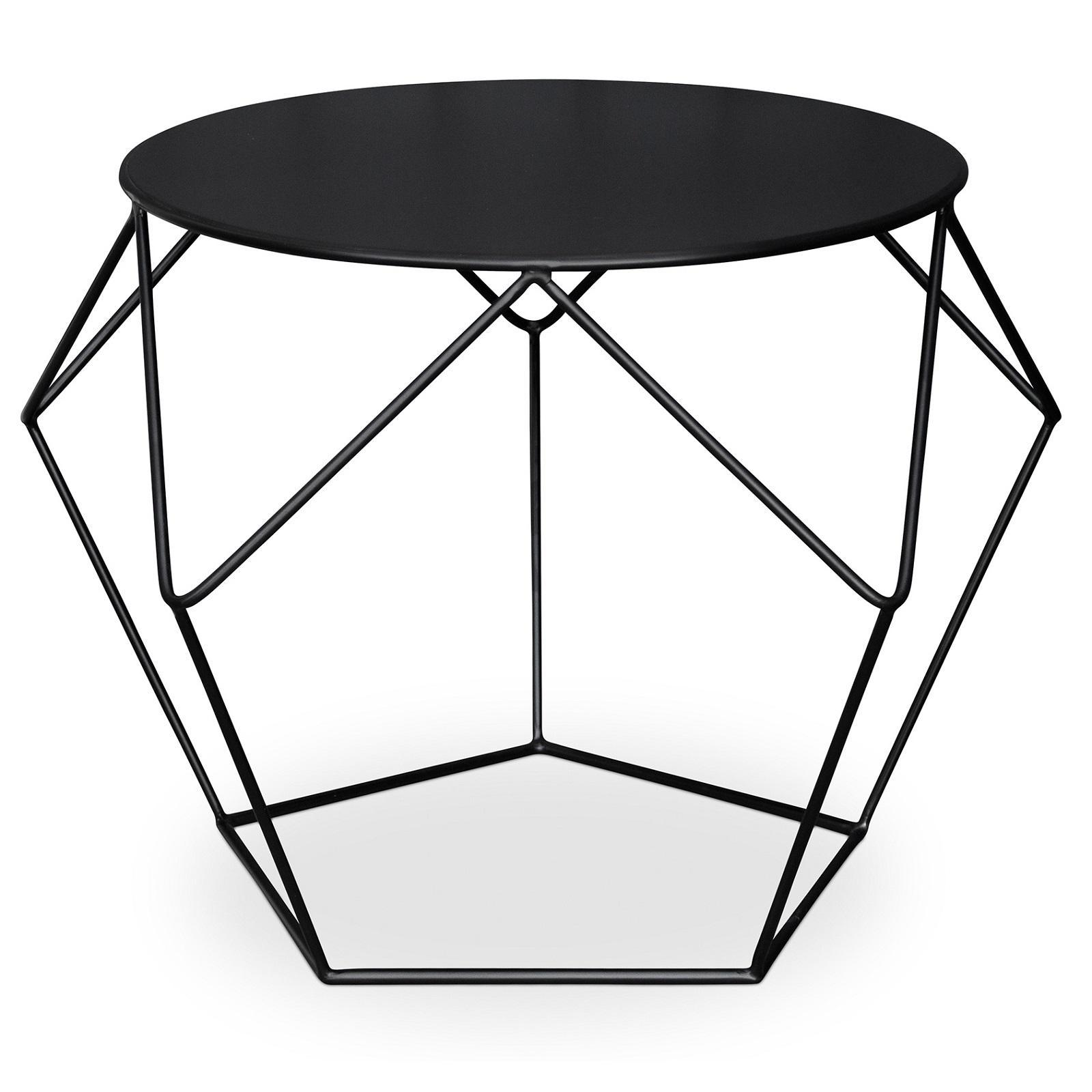Table D'appoint Pliante Castorama Table D 39appoint Métal Noir Diamant Lestendances Fr