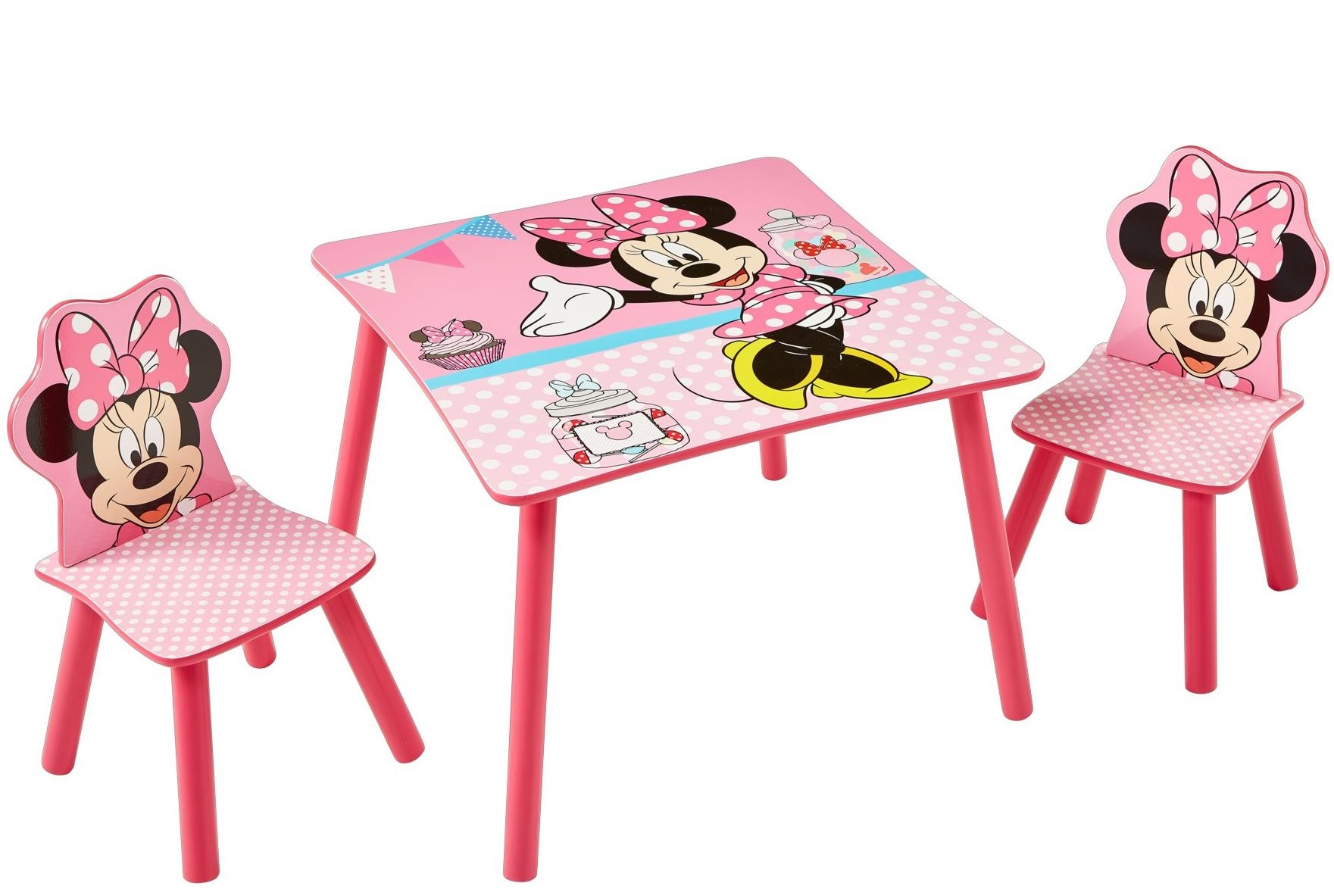 Table 2 Chaises Table Et 2 Chaises Disney Minnie Lestendances Fr