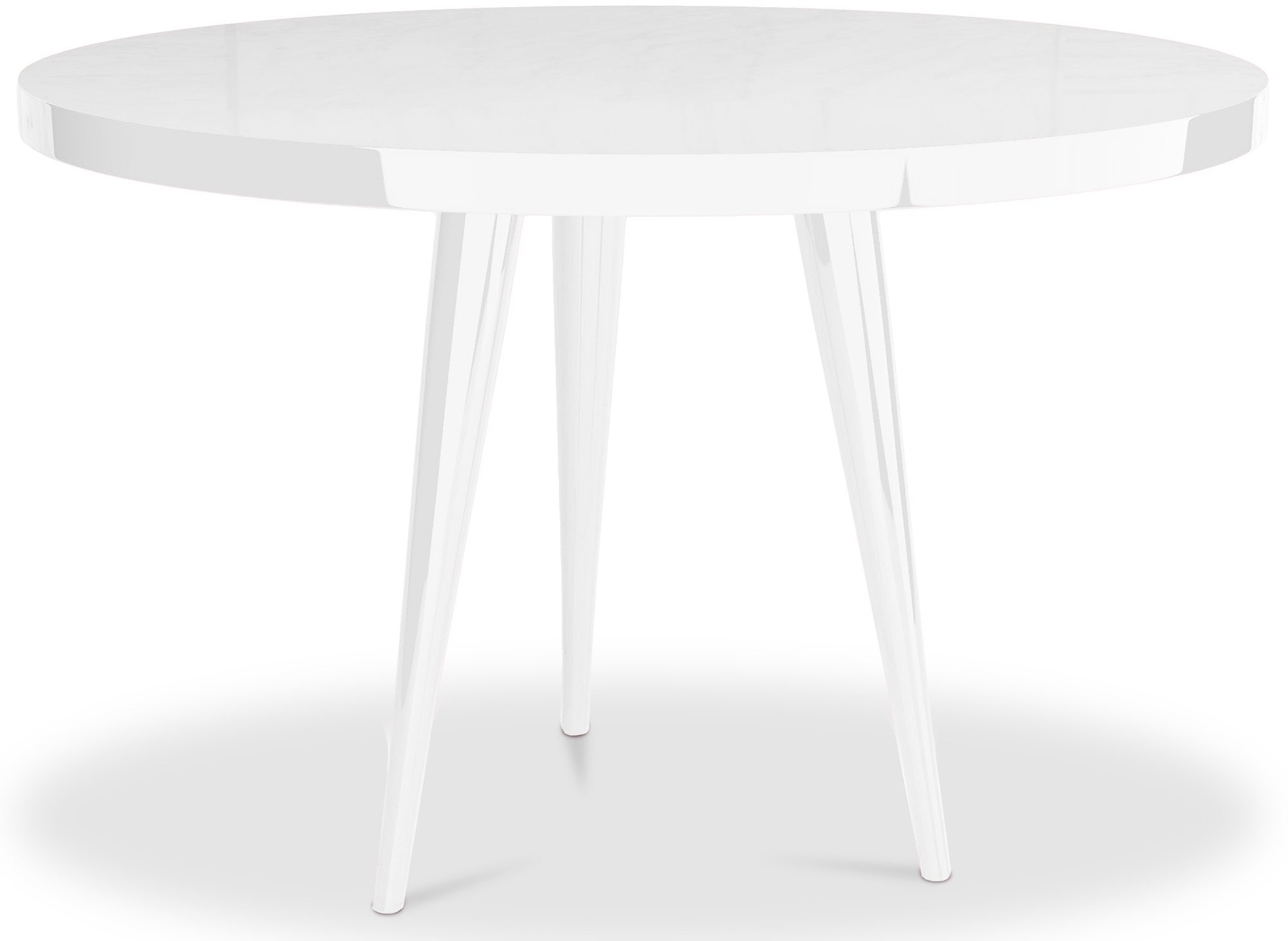 Table Ronde Blanche Table Ronde Laquée Table
