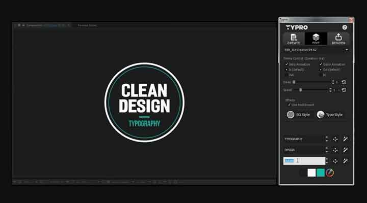 Typro Simplifies Title Animation in After Effects - Lesterbanks - animation title