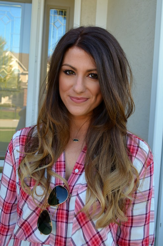 ashley from lsr, express plaid shirt