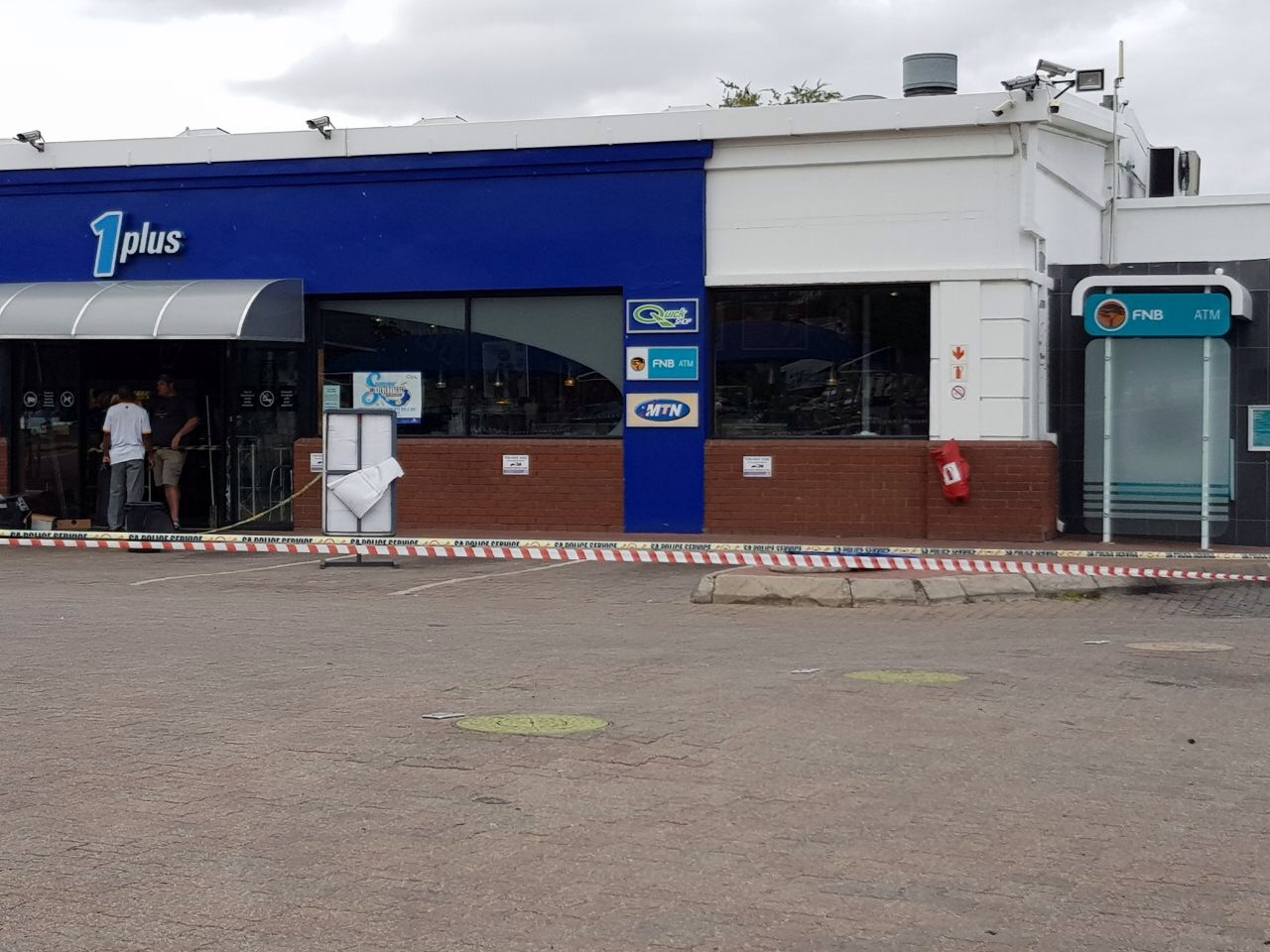 Tzaneen Engen Garage Audio Video Manhunt Launched After Robbery Safe Bombing At