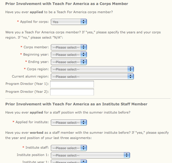 Simple Job Application Form Form Templates Usability In Online Forms Lethal Sheethal Leap Work