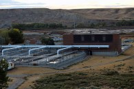 Lethbridge water treatment plant.