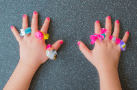 DIY Jewelry For Kids: The EASIEST Pipe Cleaner Rings - Let ...