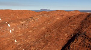 Ayers Rock and the Olgas