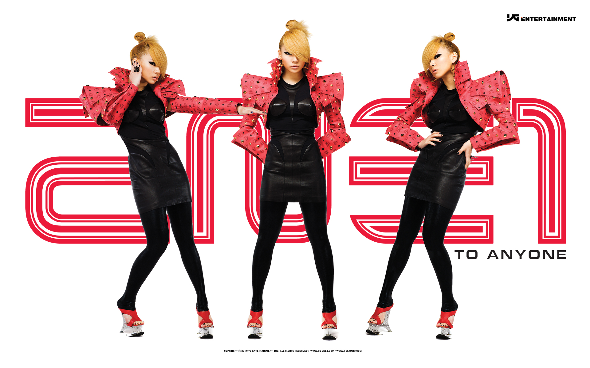 2ne1 Falling In Love Wallpaper Photos 2ne1 S Official Wallpapers To Anyone Let S