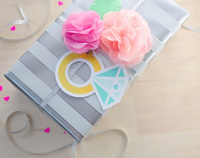 Printable Diamond Gift Tags