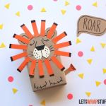 Sleepy Lion Gift Wrap