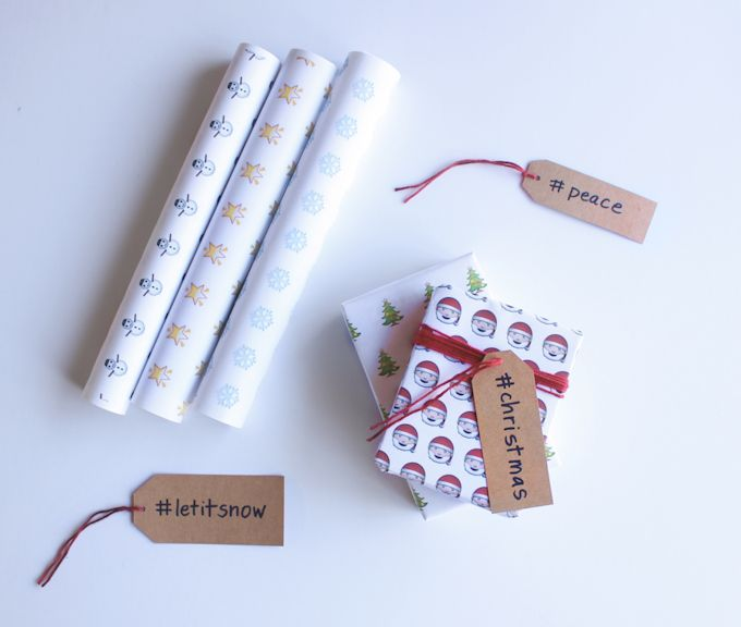 hashtag gift tags