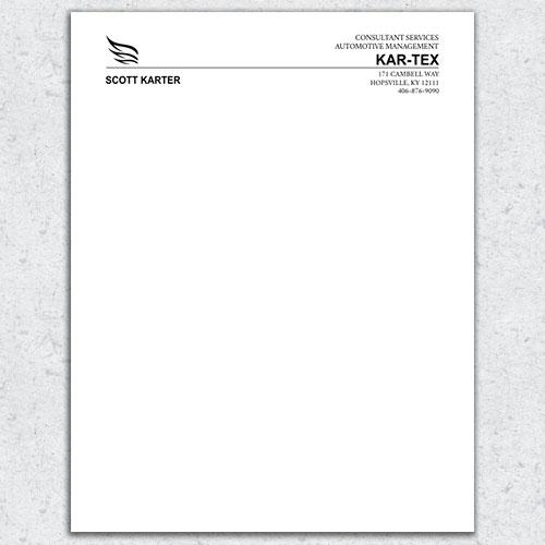 Free Letterhead Template 8 - Free Letterhead Samples