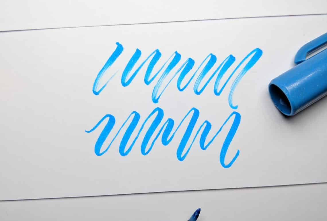 Calligraphy Input Online Top 5 Best Brush Pens For Brush Calligraphy 2019 Lettering Daily