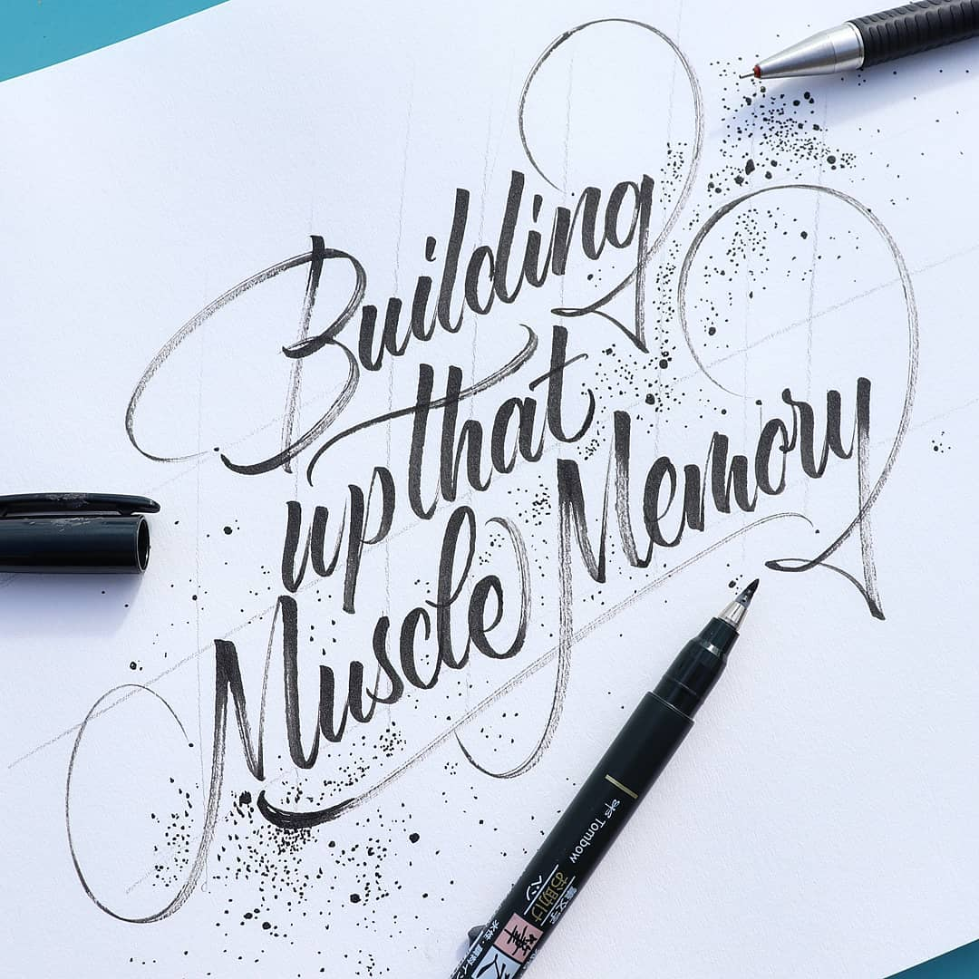 How To Do Modern Calligraphy 3 Popular Styles 2020 Lettering Daily